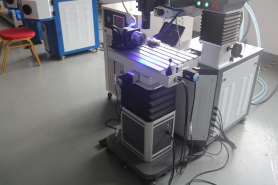 mold repair laser welding machine of Working table